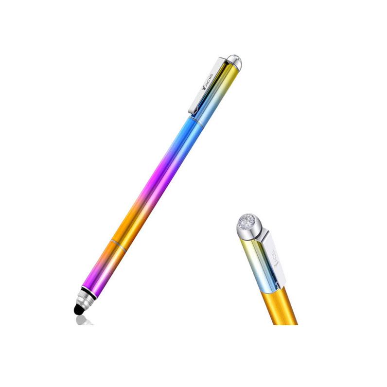 Yacig 4-in-1 Capacitive Stylus Pen-Diamond Rainbow
