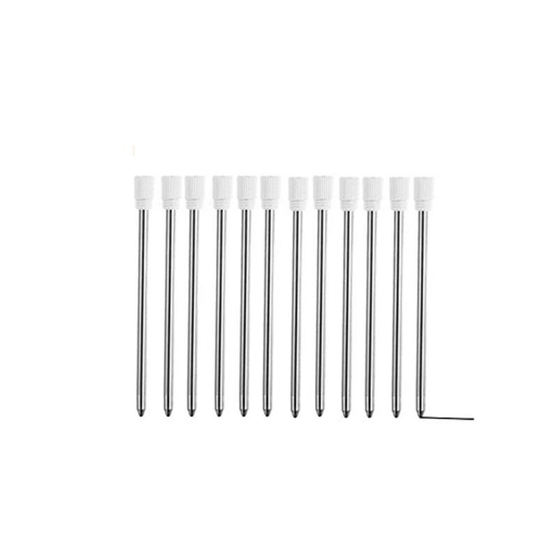 """2.75"""" Ballpoint Pen Refills for Yacig LED Light Up Pen &Yacig Pen-Like Stylus, D1 size, Metal Refill"""